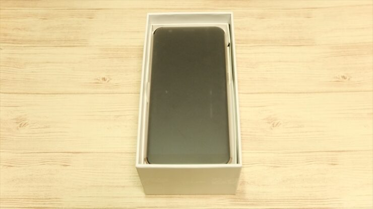 Zenfone Max M1のパッケージ開封