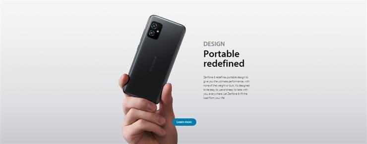 Zenfone8(ZS590KS)は最適な持ち運びサイズを追求された本体サイズ