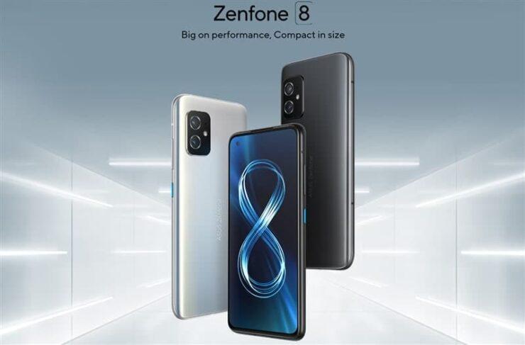 ASUSが片手でも使いやすいコンパクトなZenfone8(ZS590KS)を発表