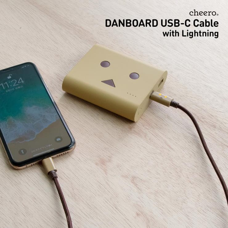 cheero DANBOARD USBtypeC Cable with Lightningのスペック