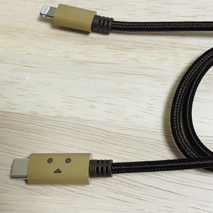 cheero DANBOARD USBtypeC Cable with Lightningのケーブル