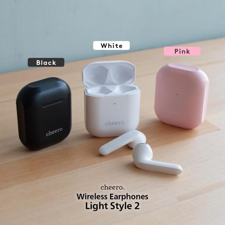 cheero Wireless Earphones Light Style2