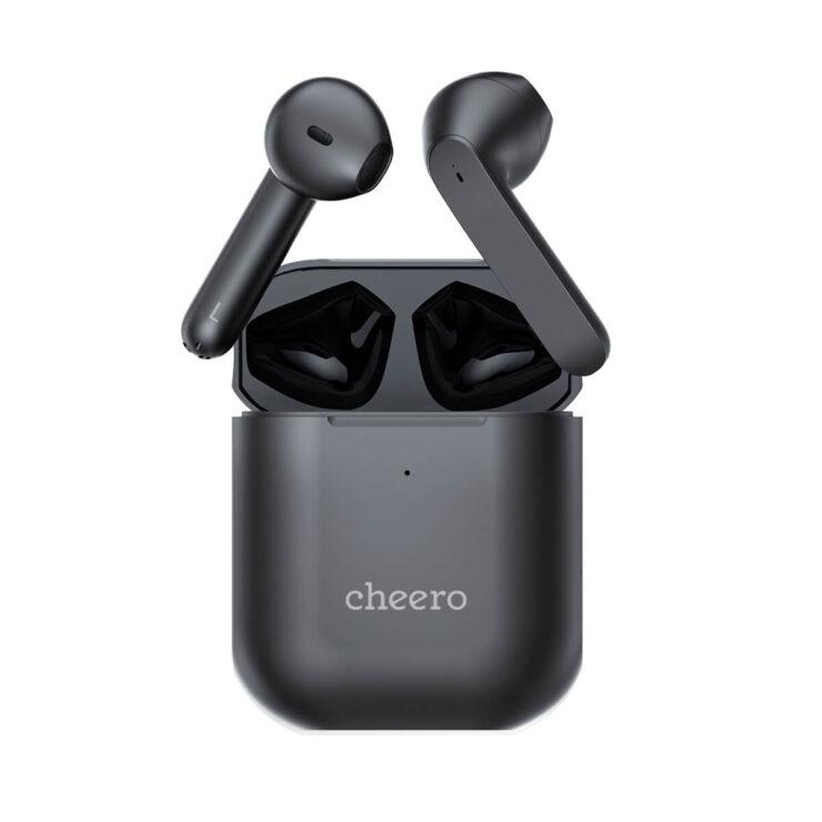 cheero Wireless Earphones Light Style2 ブラック