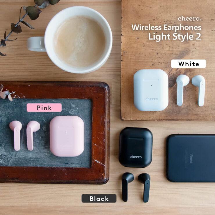 cheero Wireless Earphones Light Style2のまとめ