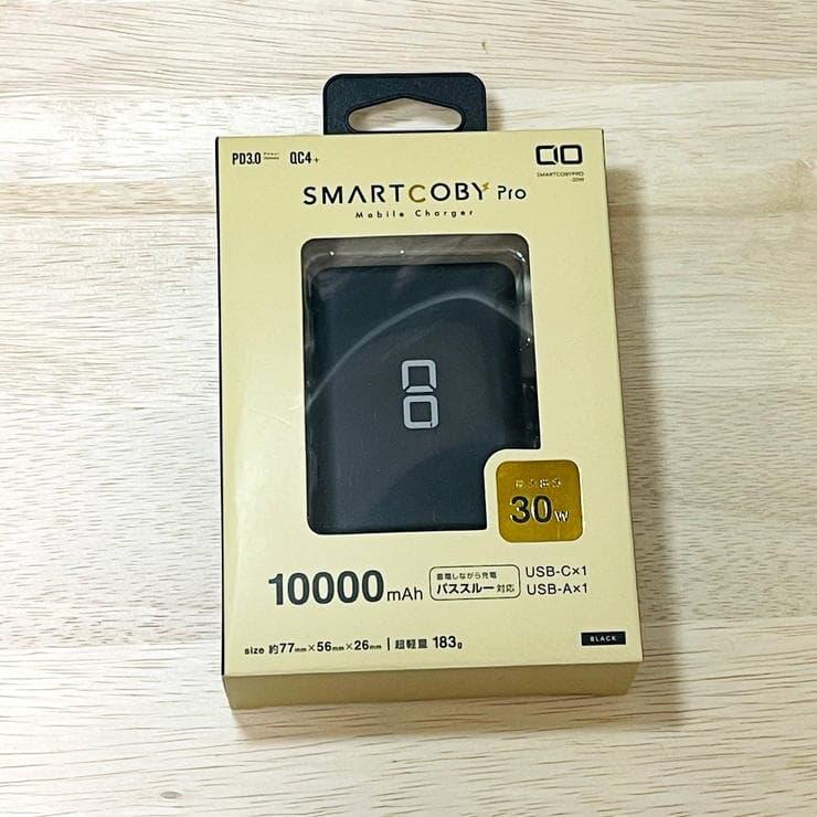 SMARTCOBY Pro 30Wのパッケージ表面