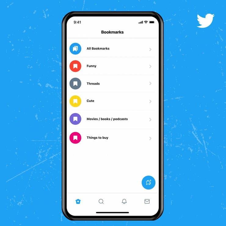 Twitter Blueの新しいブックマーク機能