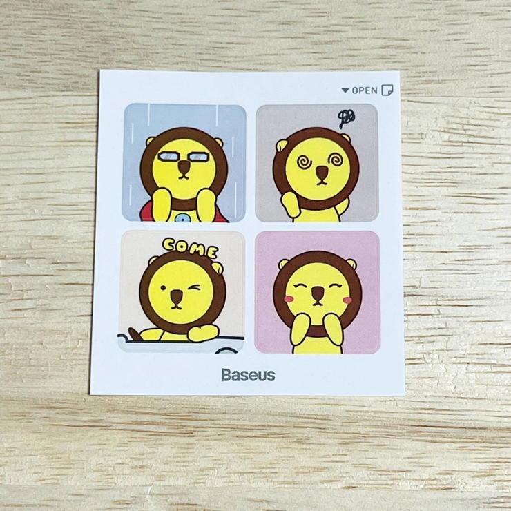 Baseusのブランドキャラクター