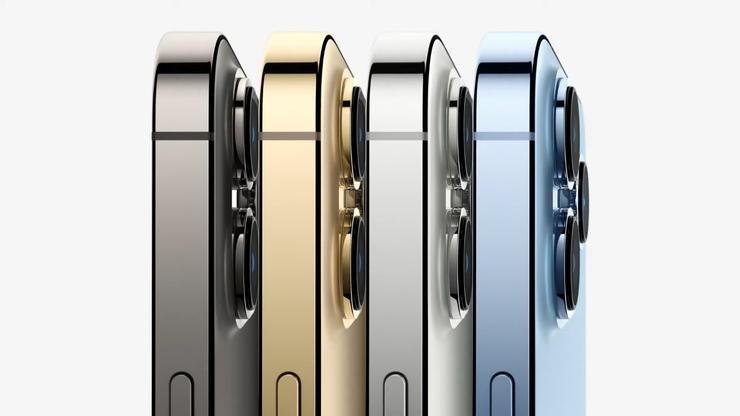 iPhone13Proシリーズの側面