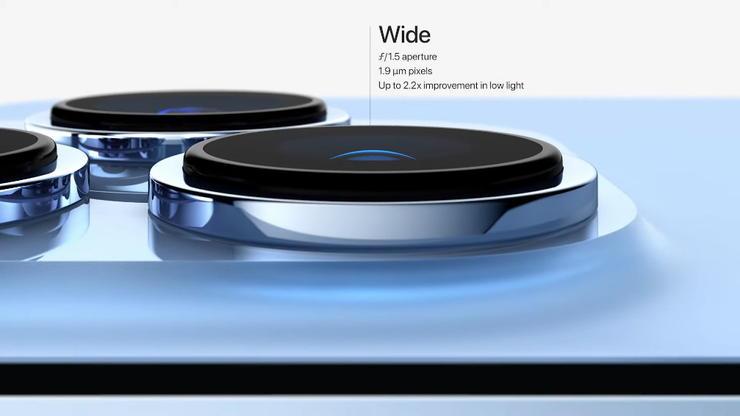 iPhone13Proシリーズの広角カメラ